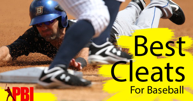 A pro rundown on the best baseball cleat brands, metal cleats vs moulded cleats etc