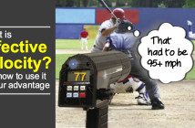 What is effective velocity in baseball