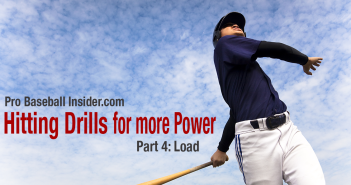 Hitting drills for power - part 4, baseball swing load