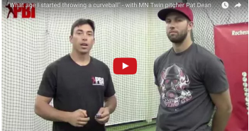 MN Twins' Pat Dean says potential injury isn't the only reason to wait on throwing a curveball