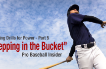 How to fix stepping in the bucket - hitting drills with video